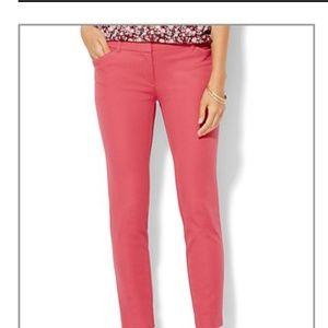 NWT NY&Co Canyon Coral Audrey fit ankle pants